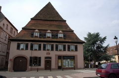 Ancien hôpital dit Maison du sel -  La Maison du Sel, Wissembourg, Alsace, France