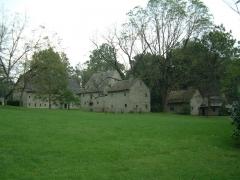 Ancien manoir de Vitzthum d'Egersberg dit manoir de Fleckenstein ou Schloessel - English: Buildings at Ephrata cloister in Ephrata, Pennsylvania