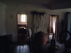 Ancien manoir de Vitzthum d'Egersberg dit manoir de Fleckenstein ou Schloessel - English: Living quarters at Ephrata cloister in Ephrata, Pennsylvania