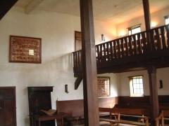 Ancien manoir de Vitzthum d'Egersberg dit manoir de Fleckenstein ou Schloessel - English: Praying building at Ephrata cloister in Ephrata, Pennsylvania