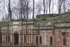 Fort Rapp, anciennement fort Moltke -  At Fort Rapp near Strasbourg, France.