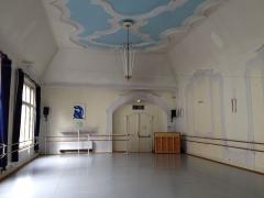 Palais des Fêtes - English: 1904 Art Nouveau room in the Palais des Fêtes used by the Strasbourg municipal ballet school