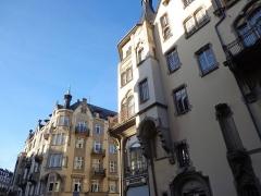 Palais des Fêtes - English: Art Nouveau buildings in Strasbourg, France