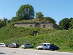 Fortifications allemandes, front nord et nord-ouest - Français:   Strasbourg: fortifications de la rue du Rempart