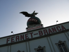Distillerie Fernet-Branca - English: Outside of the Fernet Branca Museum in Saint-Louis (Haut-Rhin)