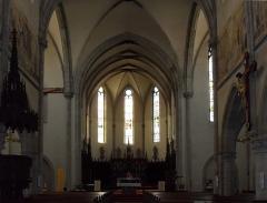 Eglise catholique Saint-Etienne - Français:   L\'intérieur d\'église Saint-Étienne à Cernay
