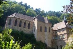 Sanctuaire Notre-Dame de Dusenbach -  Vue sur le pèlerinage de Dusenbach
