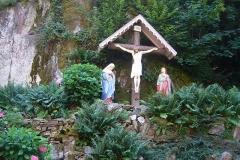 Sanctuaire Notre-Dame de Dusenbach -  Chemin de croix -Douzième station à l\'entrée près de la chapelle