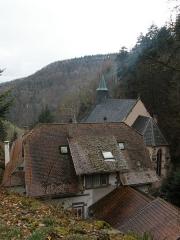 Sanctuaire Notre-Dame de Dusenbach -  Photo des bâtiments dépendants du pèlerinage de fr:Dusenbach
