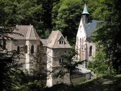 Sanctuaire Notre-Dame de Dusenbach -  Photo: Philippe Dollé - 18/06/2006 - Notre-Dame de Dusenbach à Ribeauvillé (Alsace/France)