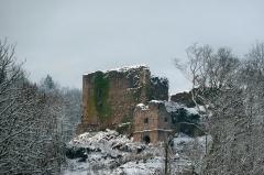 Ruines du château de Hugstein - Deutsch: Ruine Hugstein bei Guebwiller im Elsass