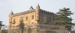 Château de Montmelas (également sur commune de Saint-Julien) - Français:   Château de Montmelas dans le Rhône