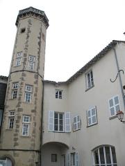 Maison forte - Français:   Maison Forte de Vourles dans le Rhône (cour intérieure)