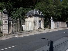 Domaine de Bellerive - Français:   Bâtiment droit.