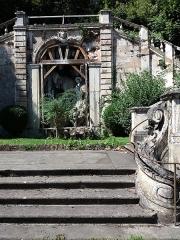 Domaine de Bellerive - Français:   Escalier monumental: partie centrale.
