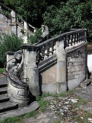 Domaine de Bellerive - Français:   Escalier monumental: partie droite.