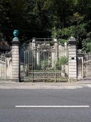 Domaine de Bellerive - Français:   Portail principal.