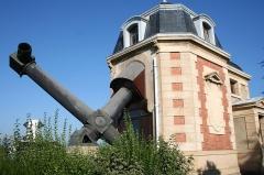 Observatoire -  Lunette coudée de l'Observatoire de Lyon