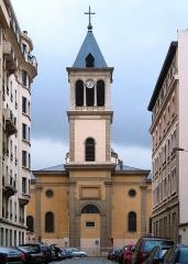 Eglise Saint-Pothin - Deutsch: Kath. Kirche Saint Pothin in Lyon, Frankreich; Rückseite