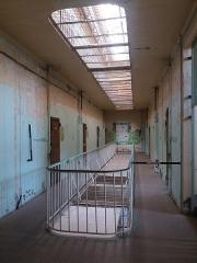 Prison Montluc - Ancienne prison des femmes: étage.