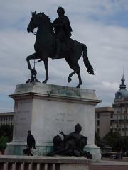 Statue de Louis XIV - Italiano: Lione
