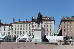 Statue de Louis XIV -  Lyon