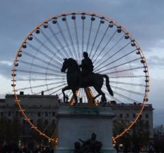 Statue de Louis XIV - English: Lyon, FRANCE