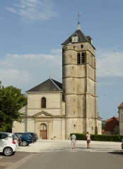 Eglise Saint-Christophe - English: Church in Champlitte France