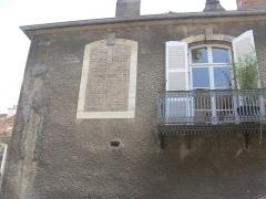 Hôtel Lyautey de Genevreuille - Français:   hôtel Lyautey de Genevreuille (Haute-Saône, France). Vers 1760