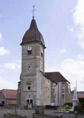 Eglise de l'Assomption - Français:   Eglise de Noidans, façace