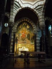 Chapelle Saint-Claude la Colombière - Deutsch: Chapelle de la Colombière, Innenansicht; Paray-le-Monial, Frankreich