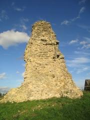 Ensemble castral - Français:   Ruines du château de Saint-Rémy-du-Val, dans la Sarthe.
