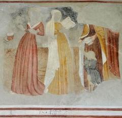 Eglise, chapelles et oratoires - Bessans - Chapelle Saint-Antoine - Peinture représentant les Vertus