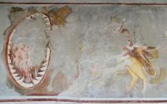 Eglise, chapelles et oratoires - Bessans - Chapelle Saint-Antoine - Peinture représentant les Vices