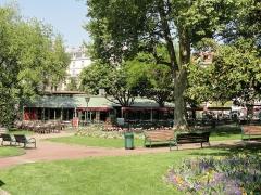 Parc thermal - English: Parc floral des Thermes, Aix-les-Bains, France.
