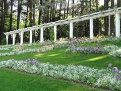 Parc thermal - English: Parc floral des Thermes, Aix les-Bains, France.