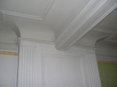 Ferme de Bel-Air - English: Détail du plafond d'une des salles