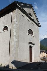 Eglise de Saint-Ferréol située au centre bourg - Français:   Façade de l\'église Saint-Ferréol (août 2018).