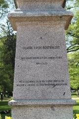 Statue de Berthollet - Français:   Statue de Claude Louis Berthollet, Annecy.