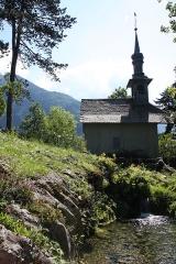 Jardin botanique alpin dit La Jaysinia - English: Alpine botanical garden La Jaÿsinia - Chapel