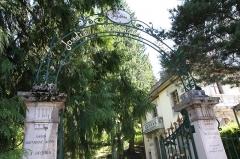 Jardin botanique alpin dit La Jaysinia - English: Alpine botanical garden La Jaÿsinia - Entrance