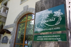 Jardin botanique alpin dit La Jaysinia - English: Alpine botanical garden La Jaÿsinia - Museum