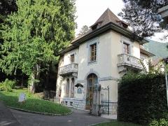 Jardin botanique alpin dit La Jaysinia - English: The