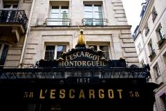 Restaurant l'Escargot Montorgueil -  L'Escargot Montorgueil, 38 Rue Montorgueil, 75001 Paris, France.