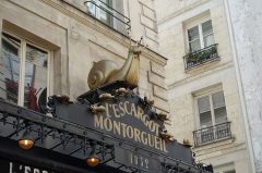 Restaurant l'Escargot Montorgueil -  Rue Montorgueil @ Paris