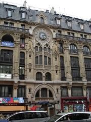 Immeuble -  Apartment building 61-63 rue Réaumur (Paris), built in 1910. General View
