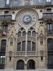 Immeuble -  Apartment building 61-63 rue Réaumur (Paris), built in 1910. Detail