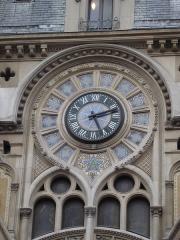 Immeuble - English: Building 61-63 rue Réaumur (Paris), built in 1910. Detail