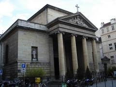 Église Saint-Denis-du-Saint-Sacrement -  Eglise Saint-Denys-du-Saint-Sacrement, rue de Turenne in Paris- General view