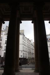 Église Saint-Denis-du-Saint-Sacrement - Español: París, Saint Denis du Saint-Sacrement. columnas del atrio.